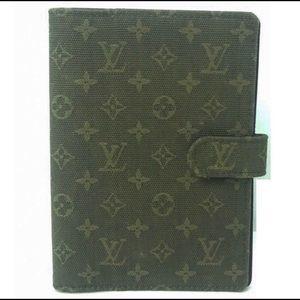 Louis Vuitton Monogram Agenda Wallet PM Mini Lin